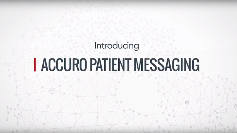 Accuro Patient Messaging Introduction